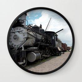 Train at Chama - The Denver & Rio Grande Western Wall Clock