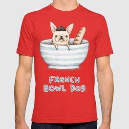 French Bowl Dog T-shirt