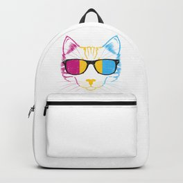Pansexual Cat Backpack