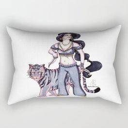 Badass Princess - Jasmine & Rajah Rectangular Pillow
