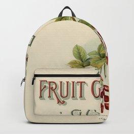 Vintage  of fruit growers guide digitally Backpack
