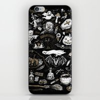 witchcraft iPhone & iPod Skins featuring Witchcraft by pakowacz
