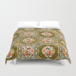 Persian Tile Butterfly Variation Duvet Cover