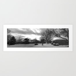 The Land of Ice and Snow Art Print