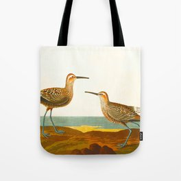 Long-legged Sandpiper Bird Tote Bag