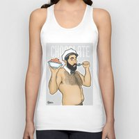 chocolate Tank Tops featuring Chocolate by Pablito