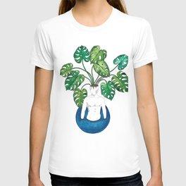 Monstera head T-shirt