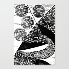 Power Magnet Canvas Print
