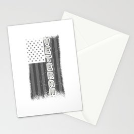 US Veteran Soldier American Flag Patriotic Stationery Cards