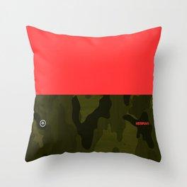 Camp Camo Throw Pillow