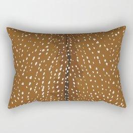 Baby Deer Fawn Print Rectangular Pillow