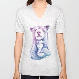Speechless Collection - Bear Unisex V-Neck