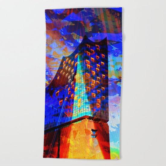 Elbphilharmonie Hamburg IV Beach Towel