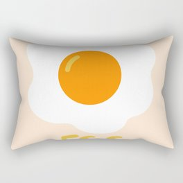 Egg orange Rectangular Pillow