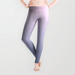 Ombre Millennial Pink Lilac Blue Gradient Pattern Leggings