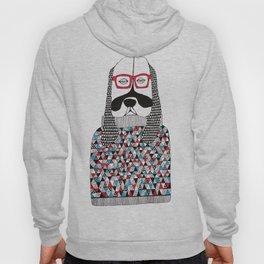 Hipster dog  Hoody