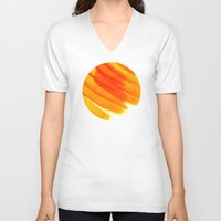 venus V-neck T-shirts featuring Venus by sustici