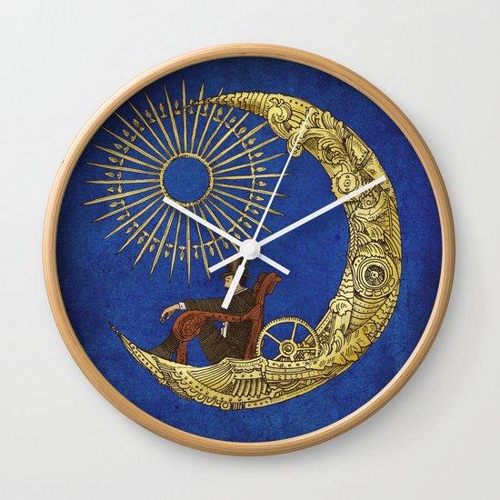 Moon Travel (Colour Option) Wall Clock