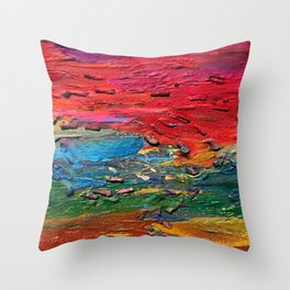 View from the earth Throw Pillow
