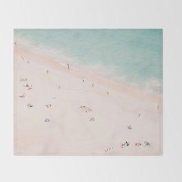 Beach Summer Bliss Throw Blanket