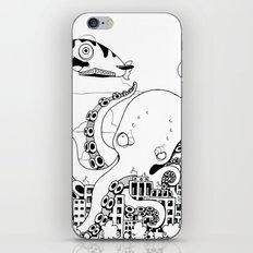 Octopus apocalypse iPhone & iPod Skin
