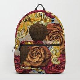 octopus floral Backpack