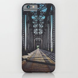 Badlands Bridge iPhone Case