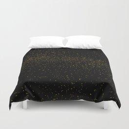 Golden Fleck Backgound Duvet Cover