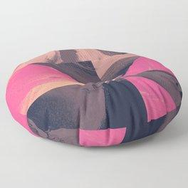Triangular Magma Floor Pillow