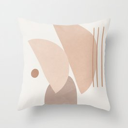 Abstract Shapes No.20 Throw Pillow