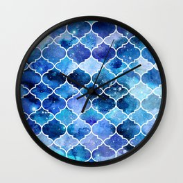 Moroccan doorways Wall Clock