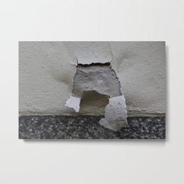 plaster cracks Metal Print