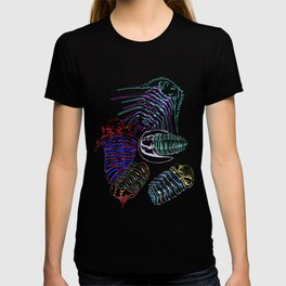 Silurian and Devonian Era Trilobites 2 T-shirt