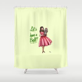 Let's Have a Ball! Shower Curtain
