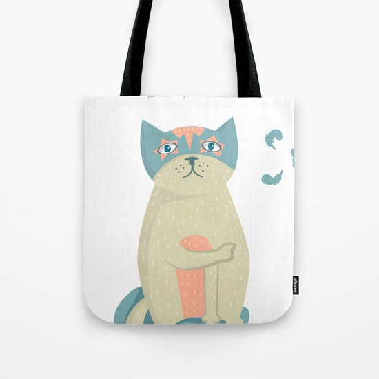 Blame the dog Tote Bag