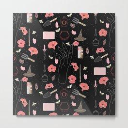 Poppy - Floral Witch Starter Kit Metal Print