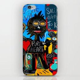 Don't be Evil Street Art Graffiti iPhone Skin
