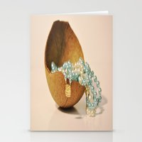 seashell Stationery Cards featuring Seashell by Sowthistle