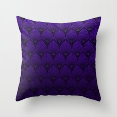 Variations on a Feather II - Raven Wing Throw Pillow