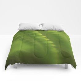 Green lines Comforters