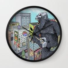 Rocket Boy vs Death Gorilla Wall Clock