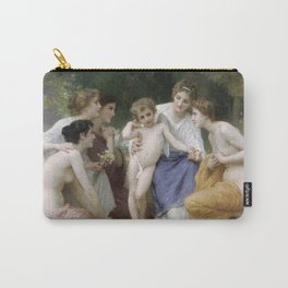 Adolphe William Bouguereau - Ladmiration Carry-All Pouch