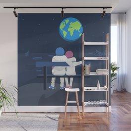 Earth Gazing Wall Mural