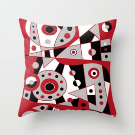 Abstract #953 Throw Pillow