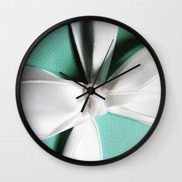 Tiff's Blue Box Wall Clock
