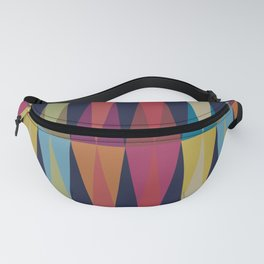 Party Argyle on Navy Blue Fanny Pack