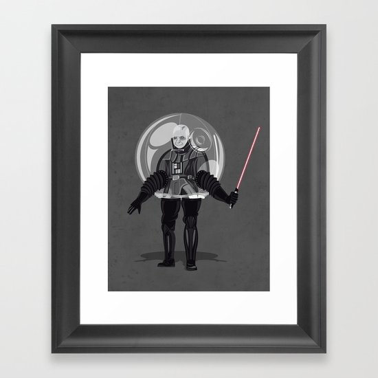Bubble boy Vdr Framed Art Print