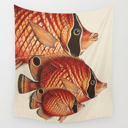 Fish Classic Designs 2 Wall Tapestry