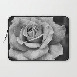 Black & White Rose Laptop Sleeve