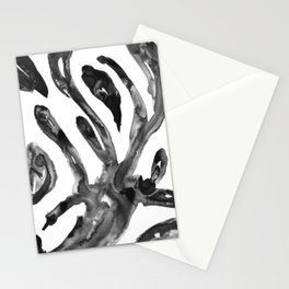 Flexible arms cells nanquim black and white Stationery Cards